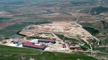 Foto aerea del Centro de Tratamiento de El Culebrete